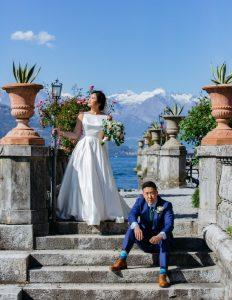 la couple ditches california for italian elopement