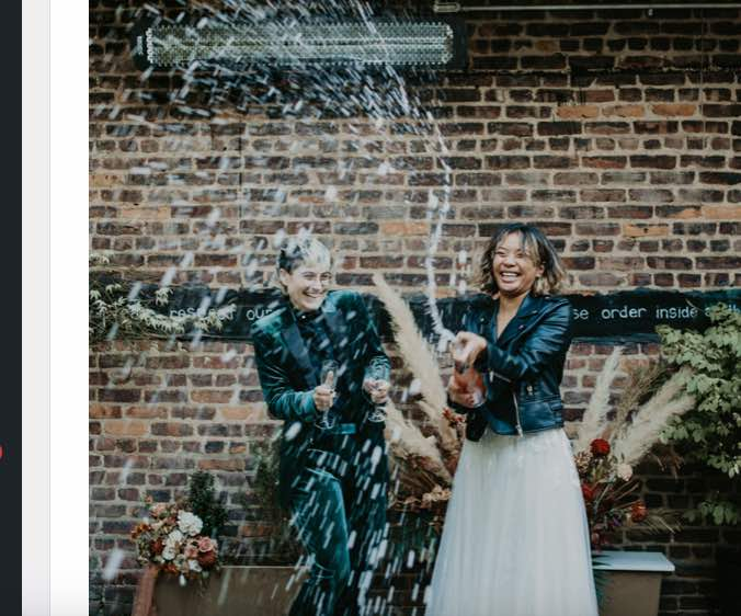 Uniquely Personalized Micro Wedding Inspiration Shoot P